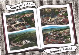 SOMMEPY-TAHURE (51) Souvenir De .... - Diverses Vues Aériennes - Rare - Autres Communes
