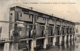 - Barrage De TUILIERES - Vue D'ensemble Des Vannes Et Des Caissons - Contre-poids - France