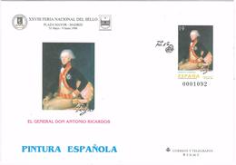 23904. Entero Postal GOYA, Pintura Española 1996. General Antonio Ricardos, Num 35 ** - Enteros Postales