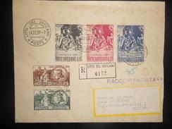 Vatican , Lettre Recommande De 1959 Pour Torino - Vatican