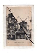 Paris Le Moulin Rouge , Cp Adressée A Un Prisonnier De Guerre En Allemagne , Voir Verso - War 1914-18