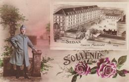 SEDAN - ARDENNES - (08)  - PEU COURANTE CPA DE 1921. - Sedan