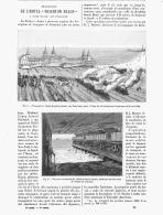 """TRANSPORT DE L'HOTEL """" BRIGHTON BEACH """"  à CONEY ISLAND Aux ETATS-UNIS  1888 - Etats-Unis"""