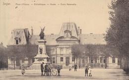 SEDAN - ARDENNES - (08)  - CPA ANIMÉE - BEAUX TAMPONS DE CENSURES DE METZ - 1917 - Sedan