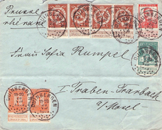 BELGIUM - LETTRE DUINBERGEN -> TRABEN-TRARBACH/GERMANY - 1915-1920 Albert I