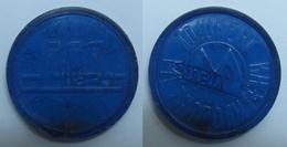 AC - MOSCOW RUSSIA METRO PLASTIC TOKEN - JETON - Monetary /of Necessity