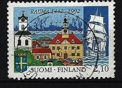FINNLAND - Mi-Nr. 1168 - 550 Jahre Stadt Rauma Gestempelt (1) - Finnland
