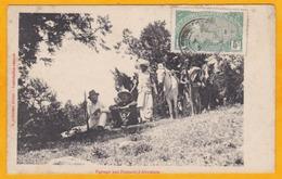 1910 - CP De Djibouti Vers Saint Pol Sur Ternoise, Pas De Calais - Timbre à 5 C Seul - Vue Plateaux D'Abyssinie - Lettres & Documents