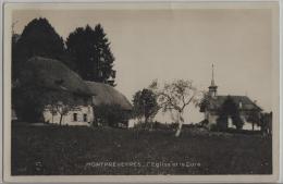 Montpreveyres - L'Eglise Et La Cure - Photo: Perrochet-Matile - VD Vaud