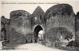24-DOMME - La Porte Des Tours (animées) - Autres Communes
