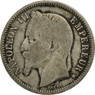 France, Napoleon III, Franc, 1868, Strasbourg, TB, Argent, KM 806.2, Gad 463 - France