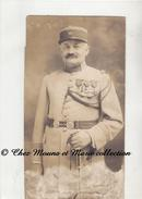 WWI 38 EME REGIMENT - CAPITAINE CL 1895 - MEDAILLES LEGION D HONNEUR CROIX DE GUERRE PALME 2 ETOILES ... PHOTO MILITAIRE - Guerre, Militaire