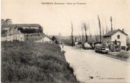 24-EXCIDEUIL -1907 - Gare Des Tramways - Otros Municipios