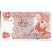 TWN - MAURITIUS 31c - 10 Rupees 1967 A/20 181659 UNC - Mauritius