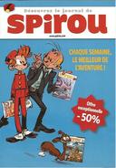 Flyer Abonnement Spirou 2010 - Spirou Magazine