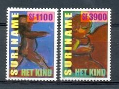 Nds1091 *SPECIAL* KINDERZEGELS STAMPS FOR THE CHILDREN JUGENDWOHLFAHRT SURINAME 2000 PF/MNH - Kindertijd & Jeugd
