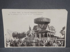 CAMBODGE - Carte Postale De Phnom Penh , Sa Majesté Movivong -Sisowath Le Jour De Son Couronnement 1929 - L 7323 - Cambodia