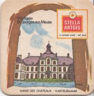 Stella Artois - Kastelenjaar - Warfusée St Georges-sur-Meuse - Nummer 15 - Ongebruikt Exemplaar/kartonverkleuring - Bierviltjes