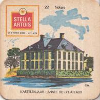 Stella Artois - Kastelenjaar - Nokere- Nummer 22- Ongebruikt Exemplaar/kartonverkleuring - Bierviltjes