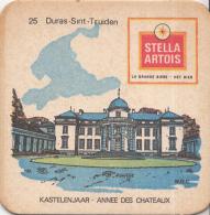 Stella Artois - Kastelenjaar - Duras-Sint-Truiden - Nummer 25 - Ongebruikt Exemplaar/kartonverkleuring - Bierviltjes