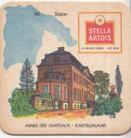 Stella Artois - Kastelenjaar - Soiron - Nummer 40 - Ongebruikt Exemplaar/kartonverkleuring - Bierviltjes
