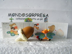 MONDOSORPRESA, (SC36LT1K99N38A) FERRERO KINDER, INSETTI K99, VARIANTE ALI TRASPARENTI  , K99 N38, FARFALLA + CARTINA - Montabili