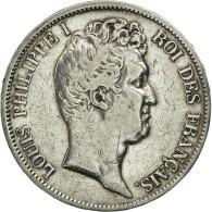 France, Louis-Philippe, 5 Francs, 1831, Lille, TB+, Argent, KM:735.13, Gad 676 - J. 5 Francs