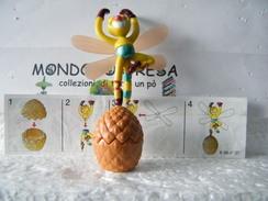 MONDOSORPRESA, (SC36LT1K99N37B) FERRERO KINDER, INSETTI K99, VARIANTE ALI GRANDI , K99 N37, LIBELLULA + CARTINA - Montabili