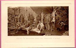 Equipe De Bouchers Dans Une Tranchée D'avant - France