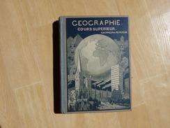 Géographie De Kaeppelin Avec Gravures Et 7 Cartes Colorées Dépliantes 1935 (D) - Livres, BD, Revues