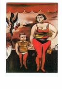 Cpm - Strong Woman With Child - Yasuo Kuniyoshi - Grosse Femme Garçon - Drapeaux - Thème Cirque - Circus