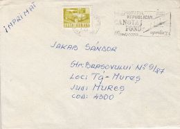 59142- NATIONAL CANOE CHAMPIONSHIP, SPECIAL POSTMARK ON COVER, 1983, ROMANIA