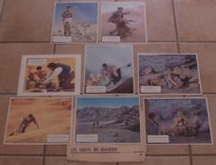 LOT 8 PHOTOS EXPLOITATIONS ORIGINALES FILM LES SABLES DU KALAHARI Stanley BAKER WHITMAN Susannah YORK 1965 TBE - Foto