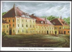 Croatia Vukovar 1997 / Castle Eltz / Heroe City / Reconstruction / Militaria / Art / Painting / War - Castelli