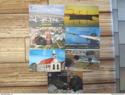 "7 Telecartes / Phonecards """" Falklands Islands  """"  Lot 2"