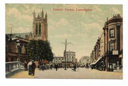 CPA VICTORIA TERRACE LEAMINGTON ( Carte Colorisér ) - England