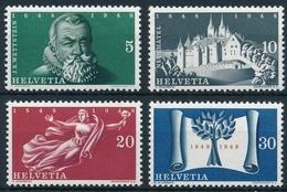 281-284 100 Jahre Schweizerischer Bundesstaat, Postfrische/** Serie Mit Original Gummi ** Neuwertig ** - Unused Stamps