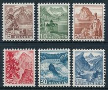 285-290 Landschaftsbilder, Farbänderung Und Neues Motiv, Postfrische/** Serie Mit Original Gummi ** Neuwertig ** - Unused Stamps