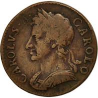 Grande-Bretagne, Charles II, Farthing, 1675, TB+, Cuivre, KM:436.1 - 1662-1816 : Anciennes Frappes Fin XVII° - Début XIX° S.