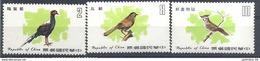 1979 FORMOSE- TAIWAN 1247-49 ** Oiseaux - 1945-... République De Chine