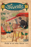 LISETTE - JOURNAL DES FILLETTES- N° 21- 24 MAI 1931- ANTJE ET SA ROBE BLEUE - TONNELIER - SKI- - Books, Magazines, Comics