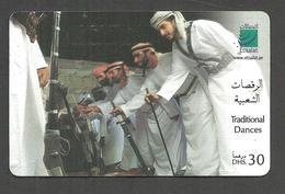 USED PHONECARD UNITED ARAB EMIRATES