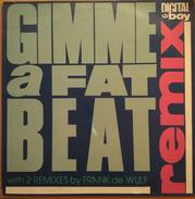 DIGITAL BOY - GIMME A FAT BEAT. MAXI SINGLE. USADO - USED. - 45 T - Maxi-Single