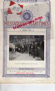 GAZETTE MESSAGERIES MARITIMES-AVRIL 1931- CONCOURS AGRICOLE PARIS-PAQUEBOT-DUNKERQUE-LA LECHERE LES BAINS- ARLES-DREUX - Bateau