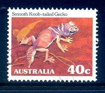 Australia 1981-83 Wildlife Definitives - 40c Knob-tailed Gecko - P.12½ - Used (SG 794) - Usati