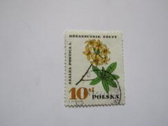 Pol40  10Z   Fleur Azalée Flower     Mi 1775  YT 1526 - Used Stamps