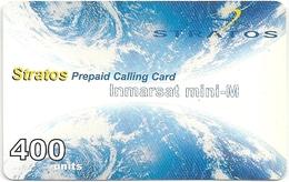 Canada - Stratos Inmarsat Military 400Units Remote Mem. Card, Used