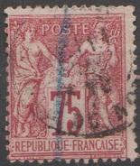 France 1876-78 N° 71 Sage (E5) - 1876-1878 Sage (Type I)