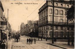 AMIENS RUE DE NOYON,BEAU PLAN ANIME,HOTEL DE L'UNIVERS  REF 51678 - Amiens