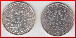 **** NEPAL - RUPEE VS1989 (1932) SHAH DINASTY - ARGENT - SILVER **** EN ACHAT IMMEDIAT !!! - Népal